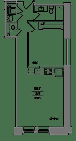 Modern loft apartments