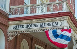The Patee House Museum in St Joe, Missouri