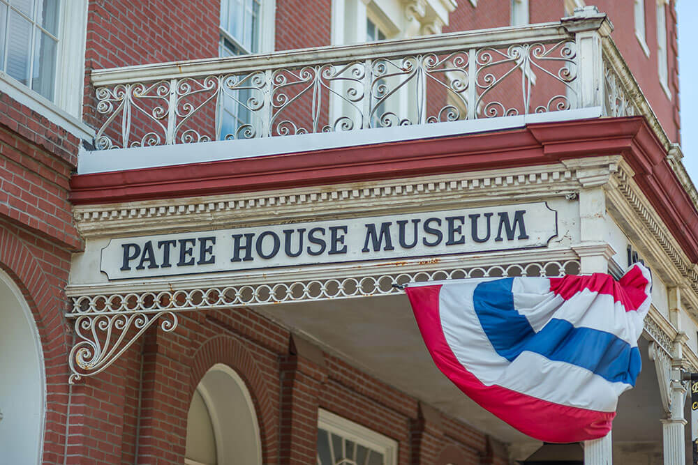 The Patee House Museum in St Joe, Missouri